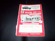 Bristol City v Lincoln City, 1961/62